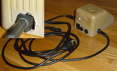 My first C64 power supply.